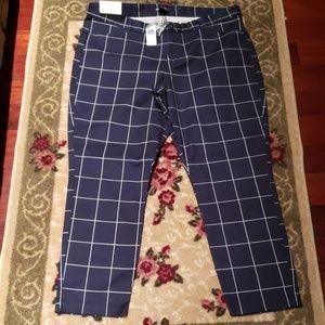 Brand New  Gap Slim City Crop Pants